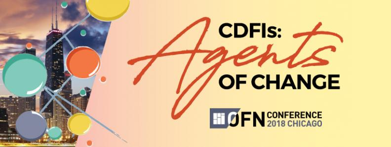 Explore CDFI resources for Agents of Change at 2018 OFN Conference