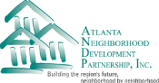 Atlanta Neighborhood Development Partnership logo