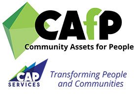 Community Assets for People logo